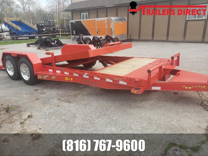 2020 Doolittle Trailer Mfg 82 x 22 Equipment Trailer