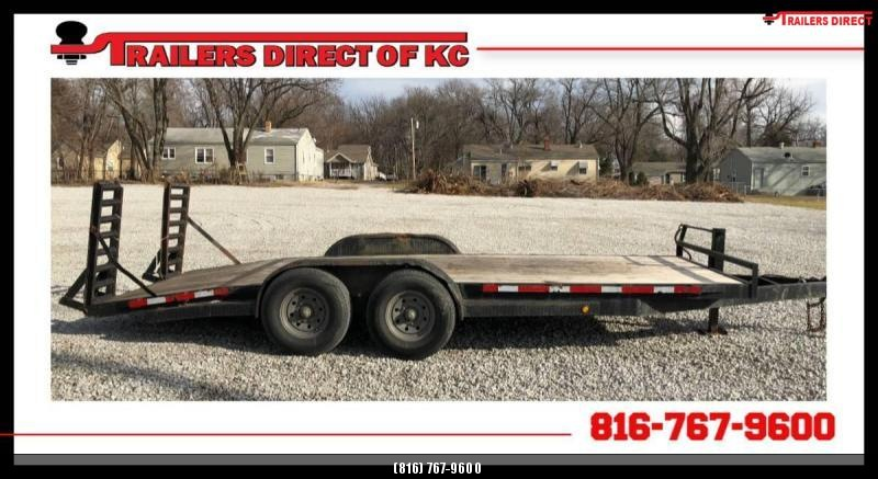 2004 Trailer Manufacturers of Toledo 82 X 18 Utility Trailer