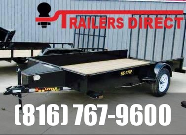 2020 Doolittle Trailer Mfg 77 x 12 SS Utility Trailer