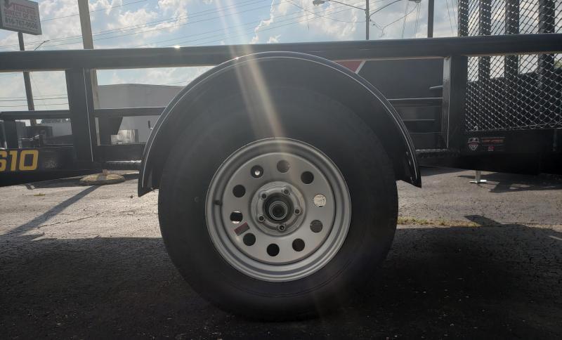 2020 Doolittle Trailer Mfg 66 x 10 Utility Trailer