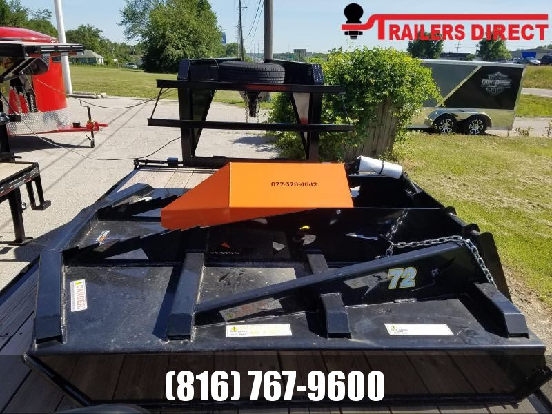 2019 Closed Front Brush Cutter SKID PRO Attachment