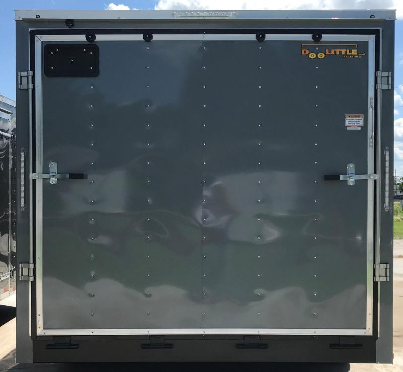2019 Doolittle Trailer Mfg 8.5 X 16 Enclosed Cargo Trailer
