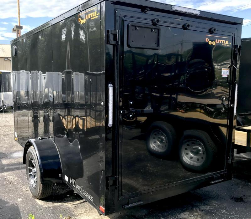 2020 Doolittle Trailer Mfg 6 X 12 **BLACKOUT PACKAGE** Enclosed Cargo Trailer
