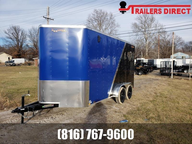 2020 Doolittle 7 x 16 Enclosed Cargo Trailer