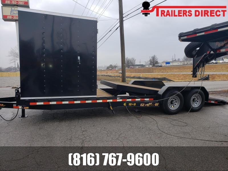2019 Doolittle Trailer Mfg 82 x 24 Equipment Trailer
