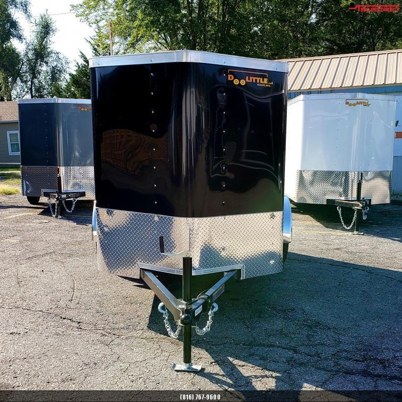 2020 Doolittle Trailer Mfg 5 x 8 Enclosed Cargo Trailer