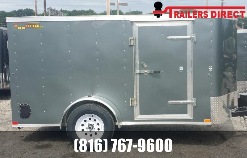 2020 Doolittle Trailer Mfg 5 x 10 Enclosed Cargo Trailer