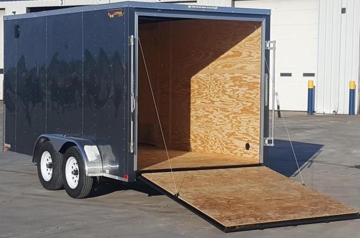 2020 Doolittle Trailer Mfg 7 x 14 Enclosed Cargo Trailer