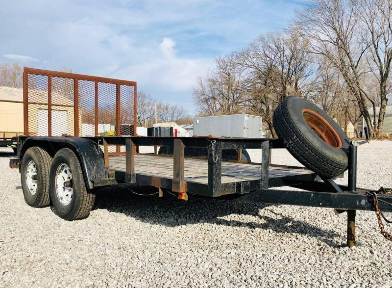 2010 Trailer Manufacturers of Toledo 77 X 12 Utility Trailer