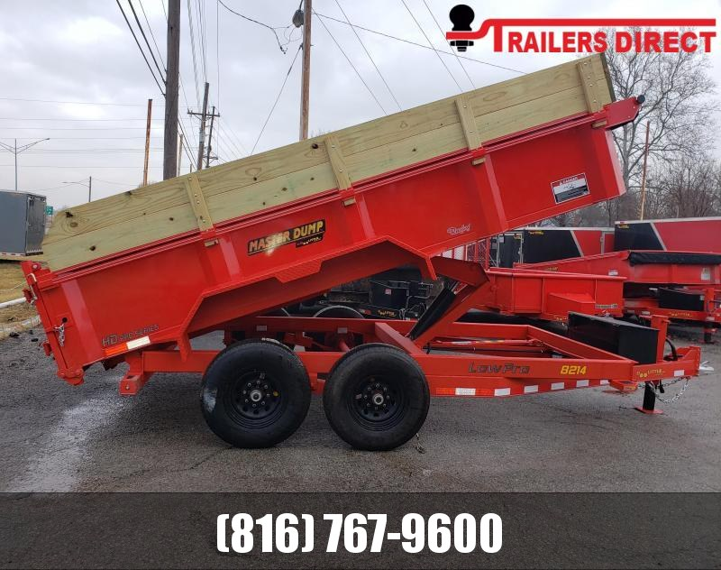 2020 Doolittle Trailer Mfg 82 x 14 Dump Trailer
