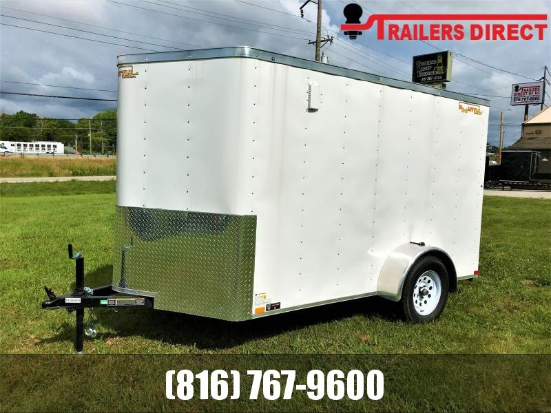 6 X 10  Doolittle Trailer Mfg  Enclosed Cargo Trailer