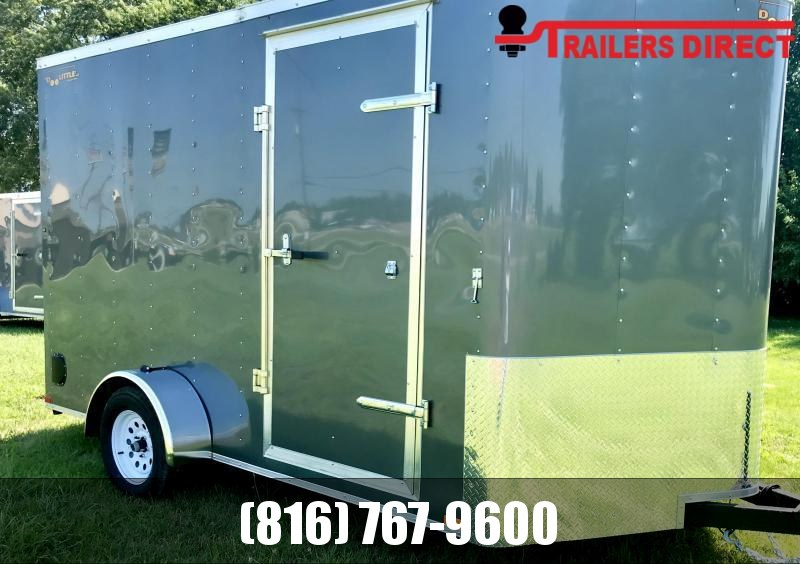**FLASH SALE** 2020 Doolittle Trailer Mfg 7 X 12 Enclosed Cargo Trailer