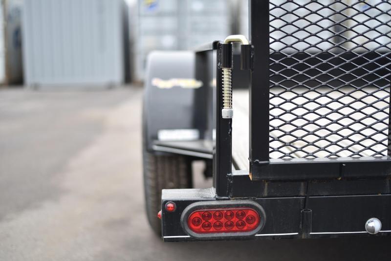 2019 Doolittle Trailer Mfg 77 X 10 SS Utility Trailer