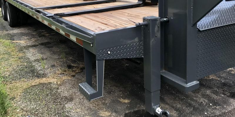 2019 Doolittle Trailer Mfg 102 X 32 BruteForce Gooseneck Equipment Trailer