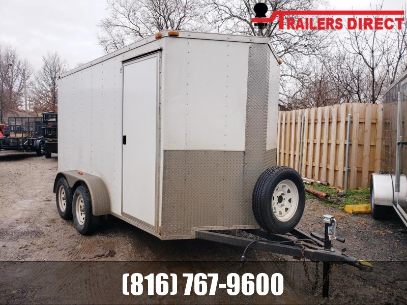 2015 Arising 6 X 12 Enclosed Cargo Trailer