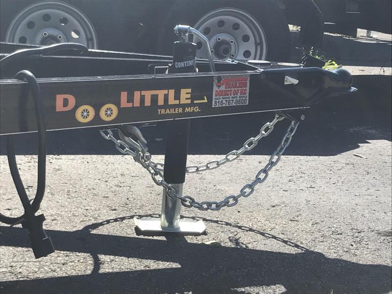 2019 Doolittle Trailer Mfg 77 X 16 Utility Trailer