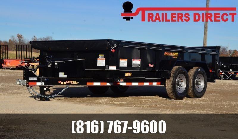 2020 Doolittle Trailer Mfg 82 x 14 Dump Trailer