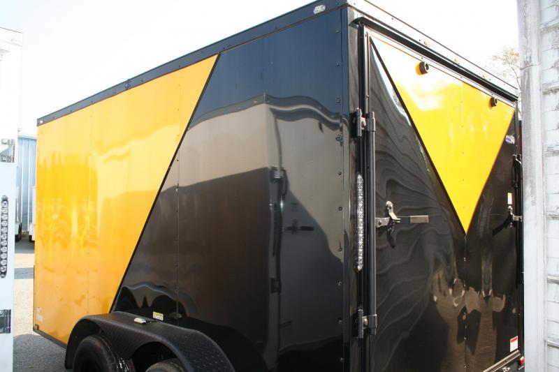 2019 Quality Cargo 7X12 TA Enclosed Cargo Trailer