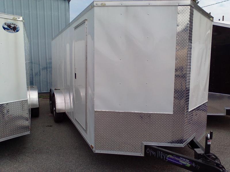 2019 Quality Cargo 7X18 TA3 Enclosed Cargo Trailer