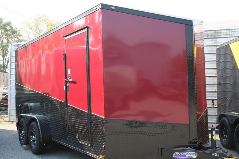 2020 Spartan 7X16 TA Enclosed Cargo Trailer