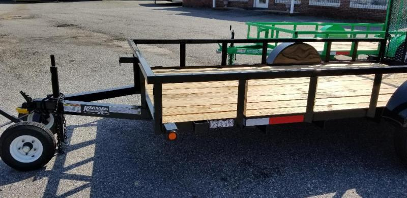 2019 Anderson Manufacturing LS612 Utility Series Utility Trailer