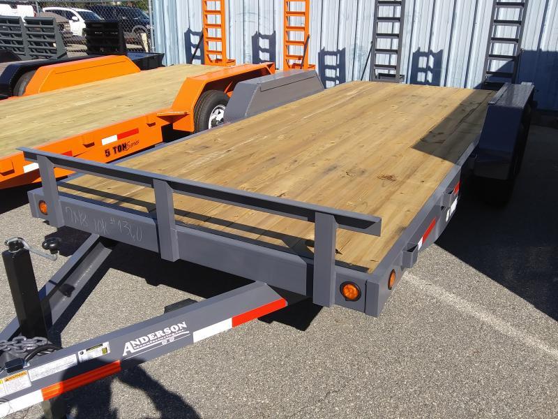 2020  Anderson Manufacturing 7X18TA 5T Equipment Series Equipment Trailer