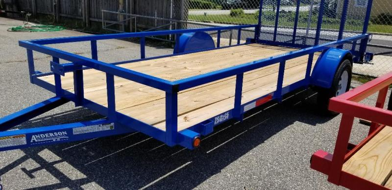 2019 Anderson Manufacturing LS614 Utility Series Utility Trailer