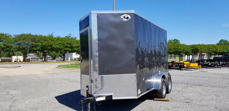 2020 Quality Cargo 6X12 TA Enclosed Cargo Trailer