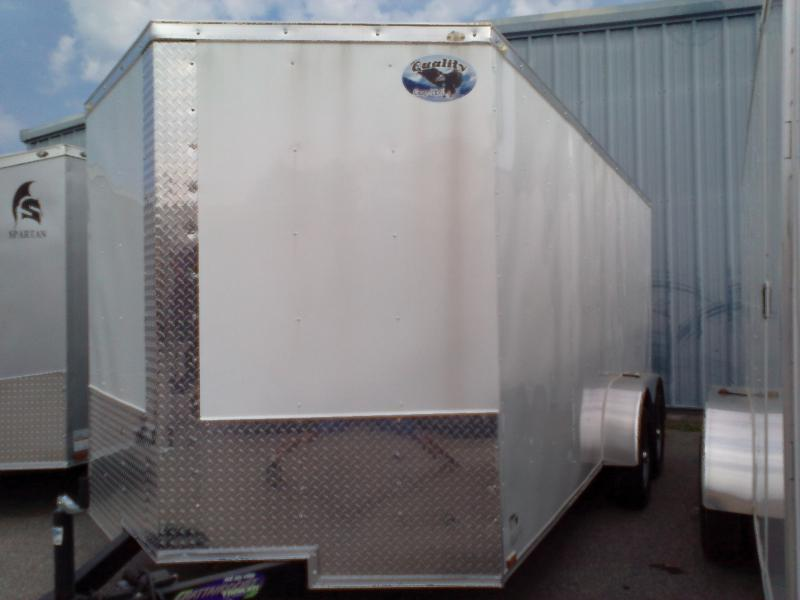 2019 Quality Cargo 7X16 TA Enclosed Cargo Trailer