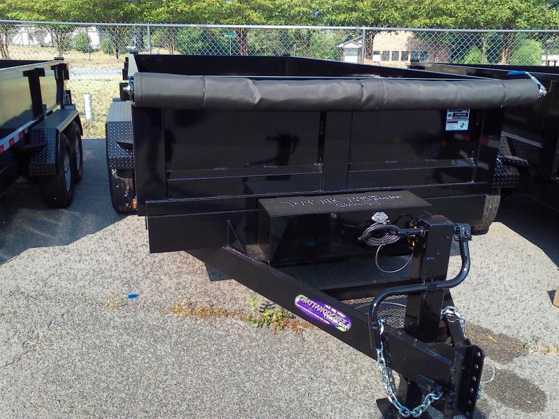 2020 Hawke Trailers 7X14 TA Dump Trailer