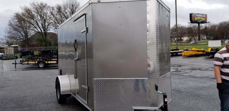 2020 Quality Cargo 6X12 SA Enclosed Cargo Trailer