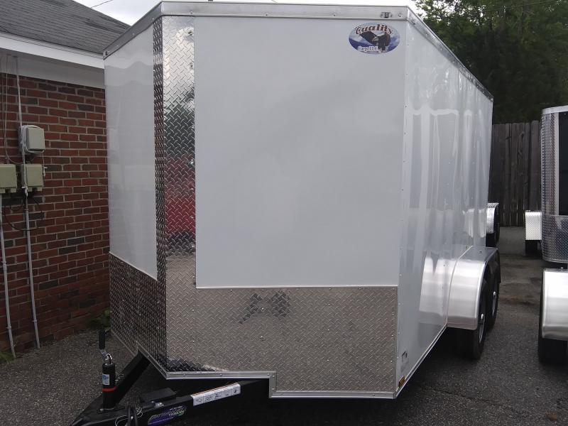 2020 Quality Cargo 7X12 TA Enclosed Cargo Trailer