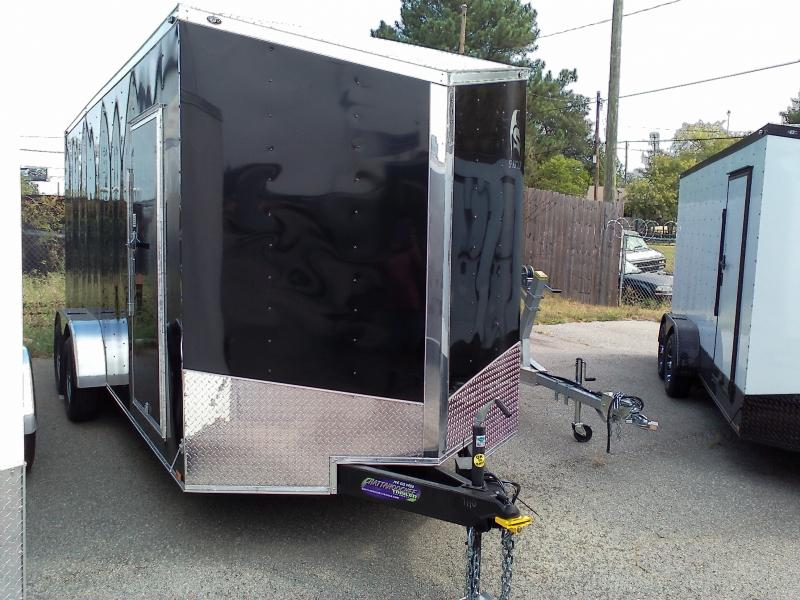 2019 Spartan 7X18 TA Enclosed Cargo Trailer
