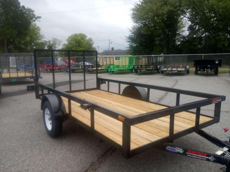 2019 Caliber Trailer Mfg AG612 Utility Trailer