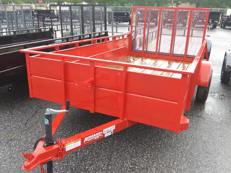 2020 Anderson Manufacturing SS612LS Utility Trailer