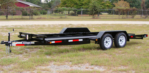 2020 Anderson Manufacturing SC 7X18 TA Carhauler Series Car / Racing Trailer