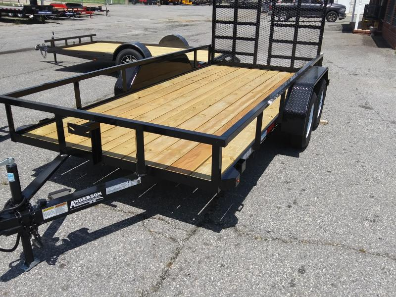 2020 Anderson Manufacturing LST6X14 TA UTILITY SERIES Utility Trailer