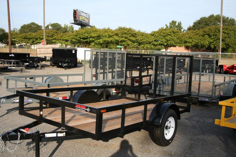 2019 Caliber Trailer Mfg AG610 Utility Trailer