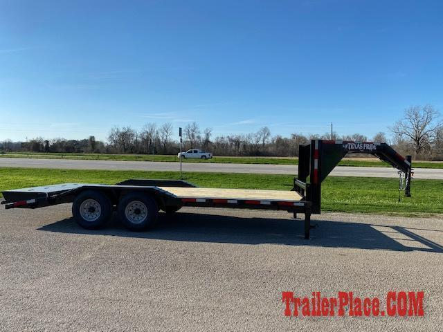 2020 Texas Pride 102x24  Equipment/Car Hauler