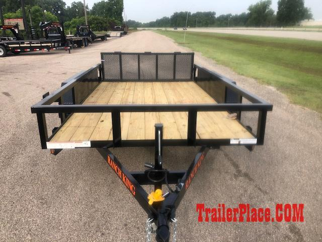 2019 Ranch King 6'10 x 12' Utility Trailer