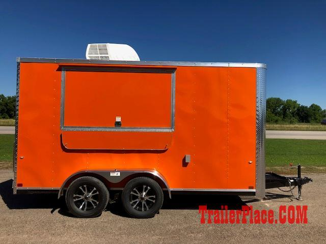 2020 Cargo Craft 7X16  Concession Trailer