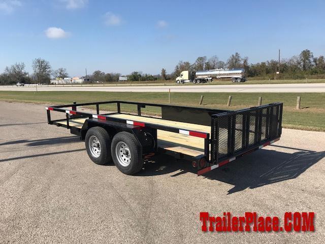 2020 Ranch King 6'10 x 18' Utility Trailer