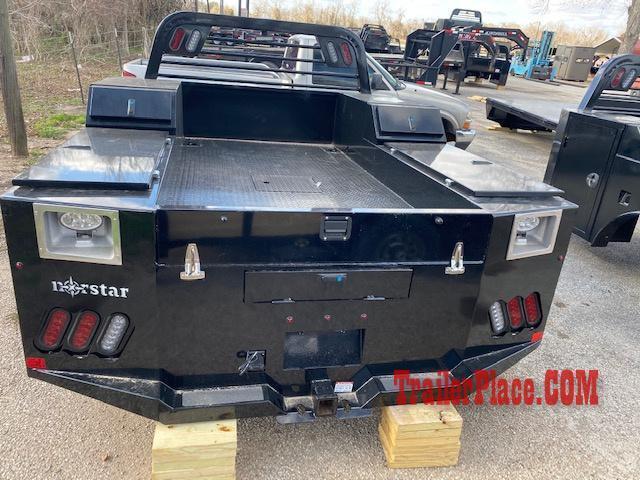 """2020 Norstar 8'6"""" x 90"""" CTA 56"""" SD Service Bed"""