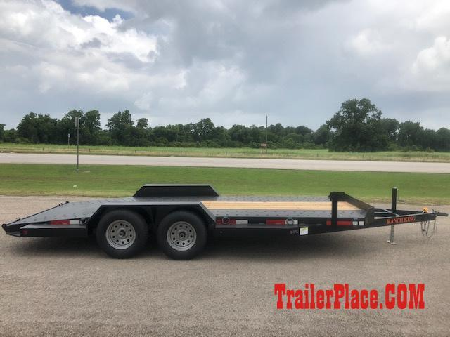 "2020 Ranch King 6'10"" x 18 Car Hauler Trailer"