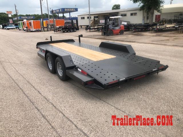 """2020 Ranch King 6'10"""" x 18 Car Hauler Trailer"""