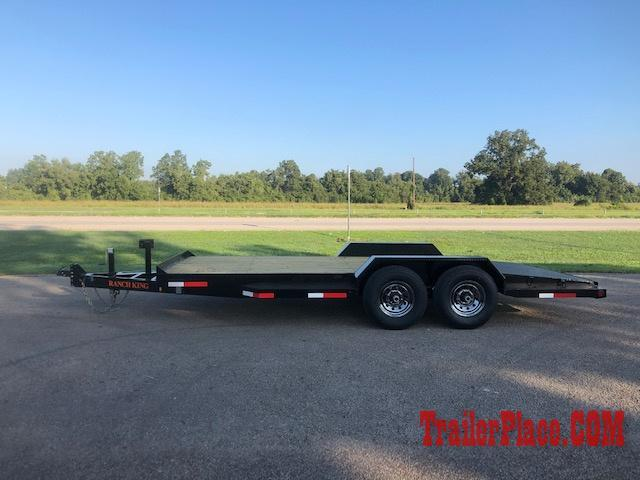 "2019 Ranch King 6'10"" x 18' Car Hauler Trailer"