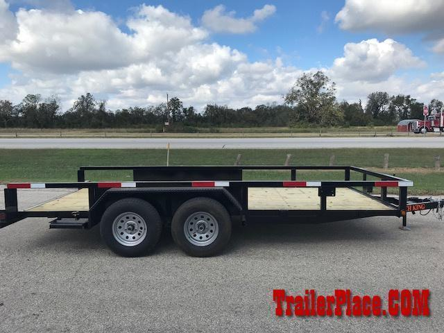 "2020 Ranch King 6'10""x 16 Utility Trailer"
