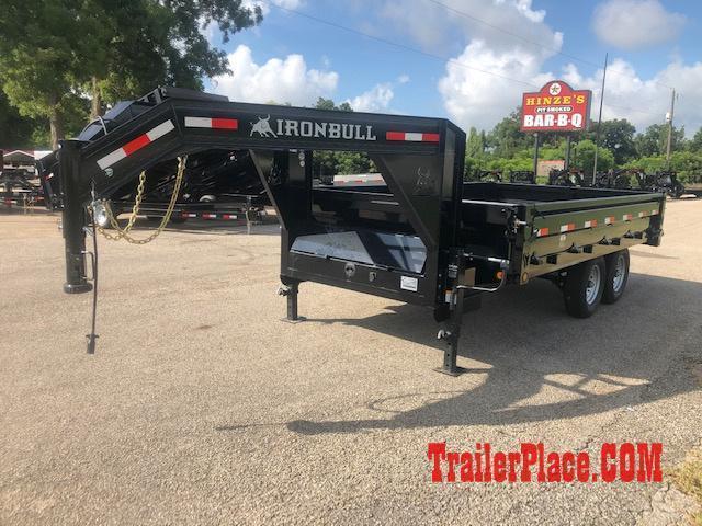 2019 Iron Bull 96 x 14 Gooseneck Dump Trailer