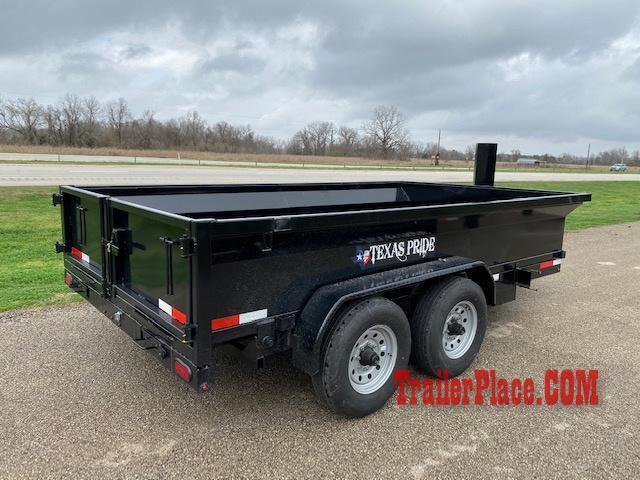 2020 Texas Pride 7 x 14 Bumper Pull Dump Trailer