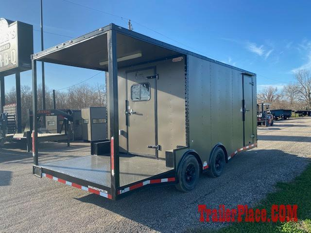BRAND NEW AND IN STOCK 8.5x20 BBQ / COOK OFF / PORCH / CONCESSION / VENDING / FOOD TRAILER